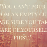 Making Self-Care a Priority